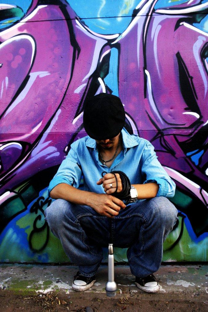 Zeffler Photo street art portrait