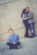 Family photos at Mesa Arts Center